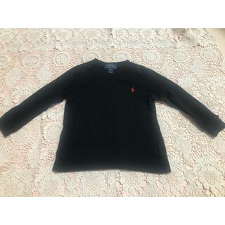 ポロラルフローレン(POLO RALPH LAUREN)のポロラルフローレン 黒ロンT トップス 24M 95(Tシャツ/カットソー)
