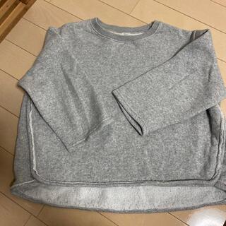 ザラキッズ(ZARA KIDS)の韓国子供服 裏起毛スウェット(Tシャツ/カットソー)