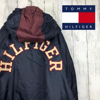 トミーヒルフィガー(TOMMY HILFIGER)のトミーヒルフィガー アウター モッズコート デカロゴ 刺繍 90s(モッズコート)
