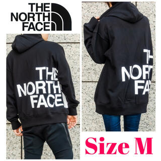 THE NORTH FACE - 新品◆日本未入荷◆THE NORTH FACE ビッグロゴパーカー US M 2