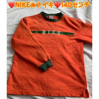 ナイキ(NIKE)のNIKE★ナイキ★トレーナー140★USED★プロフ必読(Tシャツ/カットソー)