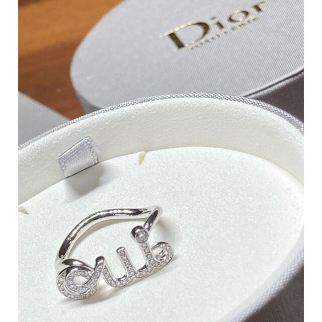 Christian Dior(クリスチャンディオール)のクリスチャンディオール K18WG ダイヤ Oui リング レディースのアクセサリー(リング(指輪))の商品写真
