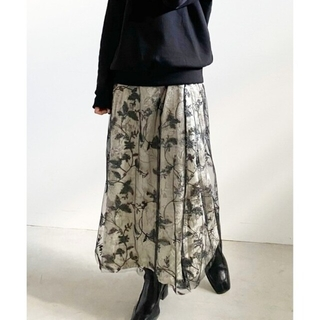 Ameri VINTAGE - アメリヴィンテージ UNDRESSED MOONY LACE SKIRT