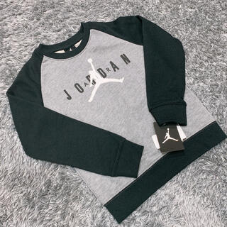 ナイキ(NIKE)の新品タグ付き ジョーダン トレーナー 110cm〜115cm(Tシャツ/カットソー)