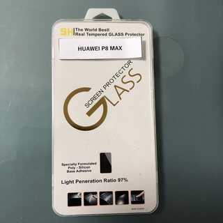 HUAWEI P8 MAX 高級 ガラス保護フィルム(保護フィルム)