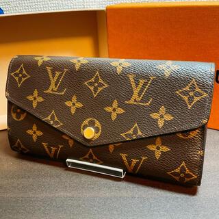 ルイヴィトン(LOUIS VUITTON)の新品同様 現行型 ルイヴィトン モノグラム サラ フューシャ M62234(財布)