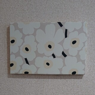 marimekko - ファブリックパネル マリメッコオフホワイト花柄