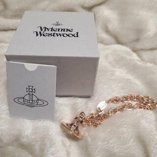 Vivienne Westwood - ヴィヴィアン ウエストウッド タイニーオーブブレスレット ピンクゴールド 未使用