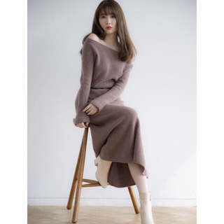 snidel - herlipto Wholegarment Knit Dress