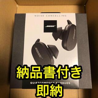 BOSE - 【新品】BOSE ワイヤレスヘッドホン QC Earbuds BLK ブラック
