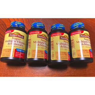 オオツカセイヤク(大塚製薬)のネイチャーメイド スーパーマルチビタミン ミネラル 4個セット(ビタミン)