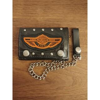 ハーレーダビッドソン(Harley Davidson)のハーレーダビッドソン Harley-Davidson  三つ折り財布 ウォレット(折り財布)