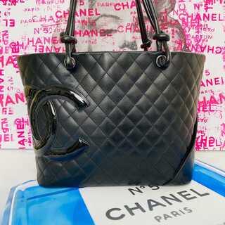 シャネル(CHANEL)の超美品✨シャネル 正規品 デカココ カンボン トートバッグ(トートバッグ)