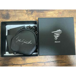 ヨウジヤマモト(Yohji Yamamoto)のdiscord yohjiyamamoto  ガマ口ネックレス コインケース(ネックレス)