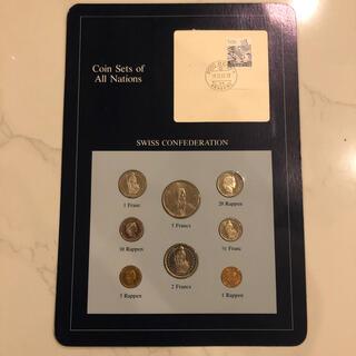 フランクリンミント スイス8種コインセット(貨幣)