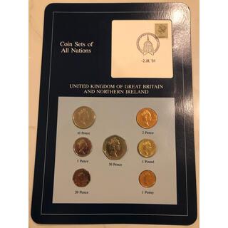 フランクリンミント イギリス7種コインセット(貨幣)