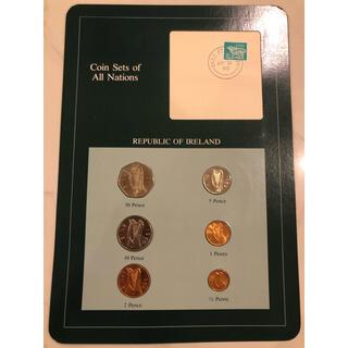 フランクリンミント アイルランド6種コインセット(貨幣)