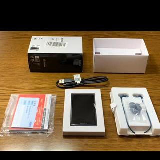 SONY - ソニー ウォークマン NW-A105HN/ブルー/16GB/イヤホン付属