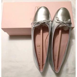 新品 プリティーバレリーナ Pretty Ballerina 39 シルバー(バレエシューズ)