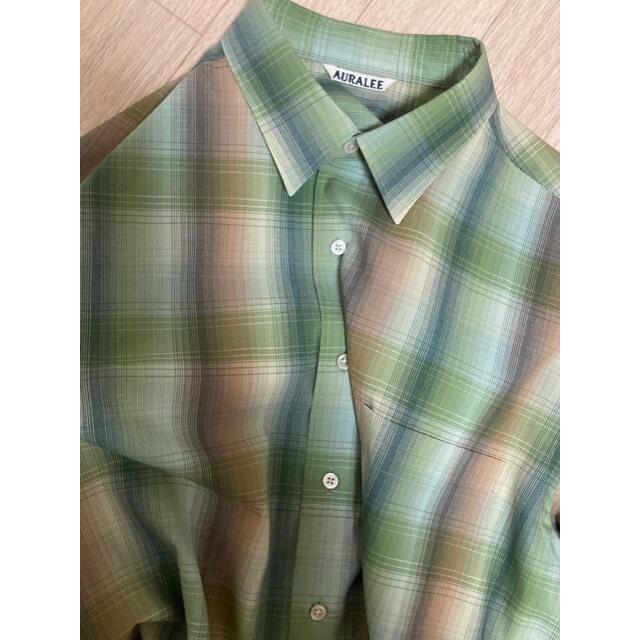 オーラリー シャツ メンズのトップス(シャツ)の商品写真