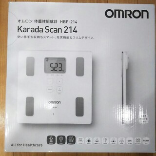 OMRON - 新品、未開封‼ オムロン カラダスキャン HBF-214