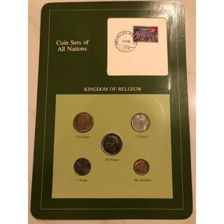 フランクリンミント ベルギー5種コインセット(貨幣)