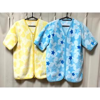 ニシマツヤ(西松屋)の西松屋 袖つきかいまき毛布 ★2点セット★(毛布)