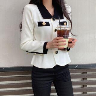 ZARA - 【予約商品】《2カラー》ベルト 襟付き トップス 韓国ファッション 春服