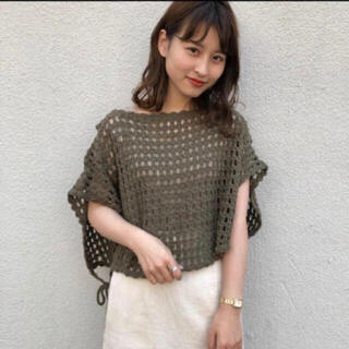 Kastane - カスタネ 新品タグ付き💓かぎ編みベスト