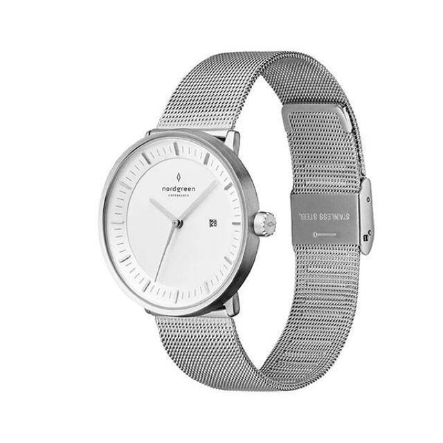 Daniel Wellington(ダニエルウェリントン)のノードグリーン 腕時計 美品 メンズの時計(腕時計(アナログ))の商品写真