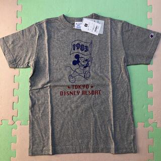Disney - ディズニー チャンピオン ミッキー Tシャツ グレー S