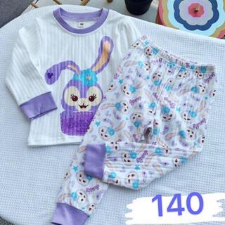 ステラルー(ステラ・ルー)のステラルー  キッズパジャマ ルームウェア セットアップ子供 長袖 140(パジャマ)