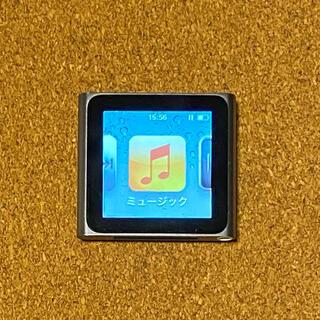Apple - Apple iPod nano 8GB グラファイト 本体 第6世代