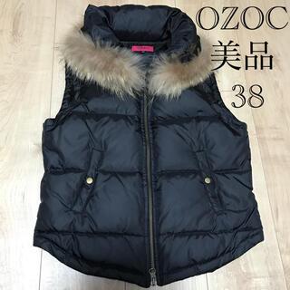 OZOC - OZOC美品ダウンベスト38