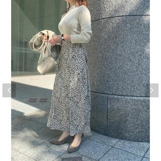 コウベレタス(神戸レタス)のレオパード柄スカート(ロングスカート)