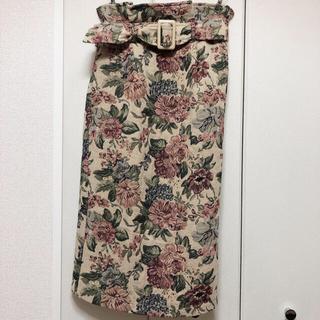 ゴージ(GORGE)のゴージ ゴブラン織りスカート(ロングスカート)
