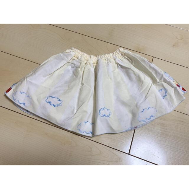 Shirley Temple(シャーリーテンプル)のシャーリーテンプル  パピー スカート 80-90 キッズ/ベビー/マタニティのキッズ服女の子用(90cm~)(スカート)の商品写真