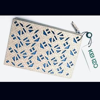 ケンゾー(KENZO)のKENZO 本革 クラッチバック 稀少(セカンドバッグ/クラッチバッグ)