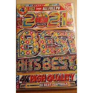 洋楽DVD 2021BEST HITS BEST 4枚組(ミュージック)