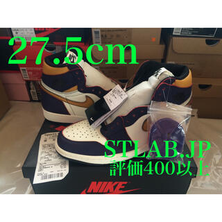 ナイキ(NIKE)の27.5cm NIKE SB AIR JORDAN1 LA to CHICAGO(スニーカー)