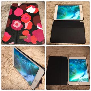 iPad - 再出 美品iPad mini4 32GB wifi kate spadeカバー