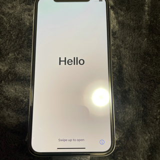 iPhone - iPhone10silver   64GB  ほぼ新品SIMフリー