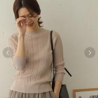 DOORS / URBAN RESEARCH - 新品タグ付き☆ アーバンリサーチドアーズ アラン柄ニット
