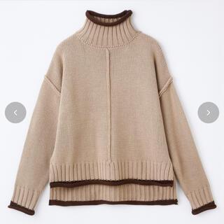 シマムラ(しまむら)のrinachisima 配色ニットPO(ニット/セーター)