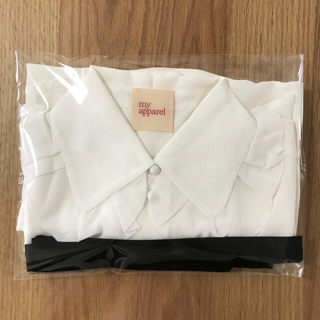 新品 マイアパレル 紗栄子 ボウタイブラウス S レディースのトップス(シャツ/ブラウス(長袖/七分))の商品写真