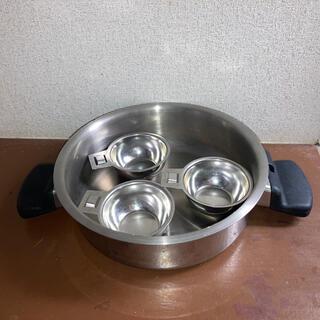 アムウェイ(Amway)の4リットル蓋 万能カップ3個 アムウェイ(鍋/フライパン)