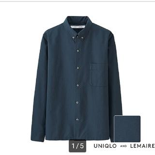 UNIQLO - 【美品】UNIQLO AND LEMAIRE オックスフォードシャツ