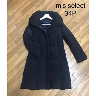 M-premier - m's select ダウンコート 黒 34p