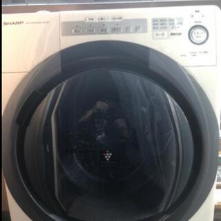 SHARP - SHARP シャープ ドラム式乾燥洗濯機 ES-S7C WR