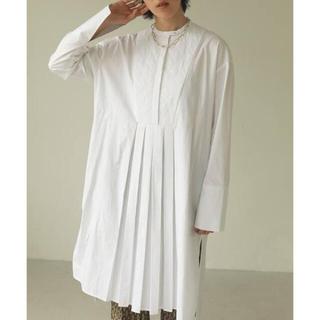 TODAYFUL - todayful キルティングシャツドレス 36 新品未使用